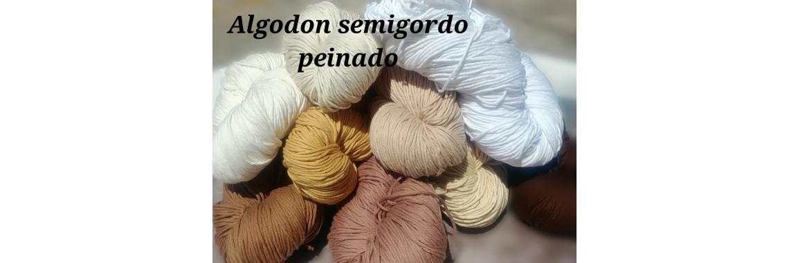 Algodon Semigordo peinado